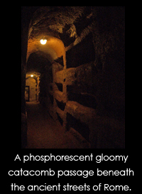ancient rome catacombs